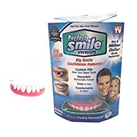 Perfect Smile Veneers Tooth Cover Dub Correction of Teeth for Bad False Teeth Instant Upper Dental Teeth Whitening Beauty Tool
