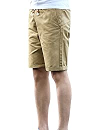 Short Taille Lin en de Homme Grande Fit Shorts Pantacourt Loose Bermuda Chino Confortable Plage EqHHF8