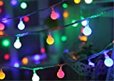 LY-JFSZ Lichterketten,Schöne Kleine Licht Weihnachten Xmas Hochzeit Party Indoor Garten Wand Im Freien Raum Dekorationen 6M 40LED USB Access - 2 Farben