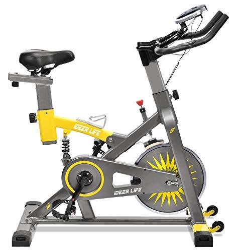 iDeer Life Exercise Bike, Indoor Cycling Bike,...