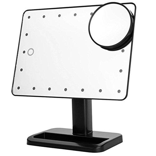 cadrim-espejo-de-maquillaje-con-mini-orgnette-cosmtica-extrable-aumento-10–20-luces-LED-de-belleza-integrados-Luminance-ajustable-interruptor-tctil-inteligente-noir