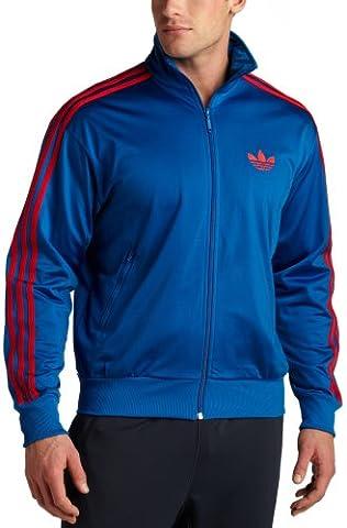 Adidas Herren FIREBIRD TRACK TOP, Pure XXL, Blau (Adidas Firebird Jacke Blau)