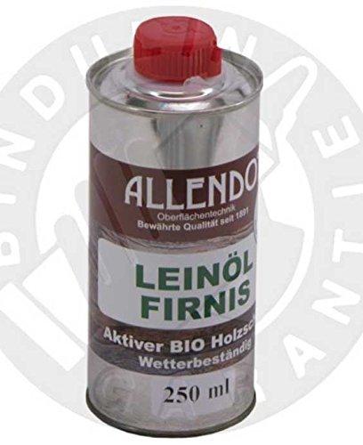 Leinöl - Firnis Holzimprägnierung & zum Herstellen von Ölfarben (250 Gramm)