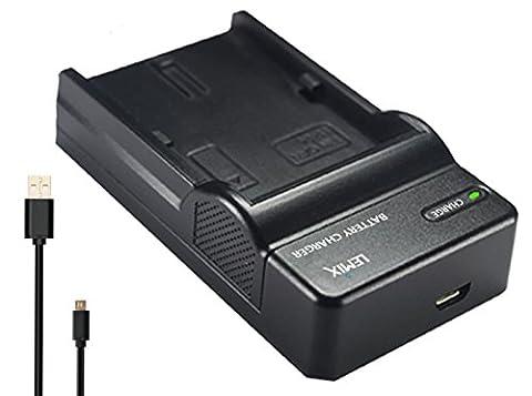 Lemix (NB11L) Chargeur USB Ultra Mince pour batteries Canon NB-11L