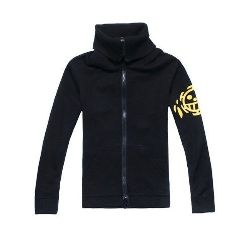 Trafalgar World New Kostüm Law - One Piece Trafalgar Law New World Jacket Cosplay, Größe L: (Höhe 168cm-172cm, Gewicht 60-70 kg)