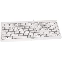 Cherry KC1000 Corded Ultraflat USB-Tastatur grau