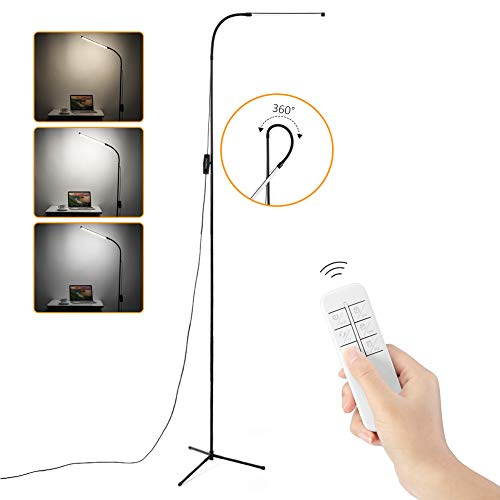 Merisny LED Lampada da Terra, Lampada a Piantana 8W con...