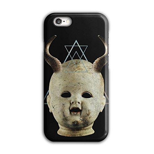 Teufel Gote Satan Horror Dunkel Prinz iPhone 6 / 6S Hülle   (Kostüm Krieger Prinz)