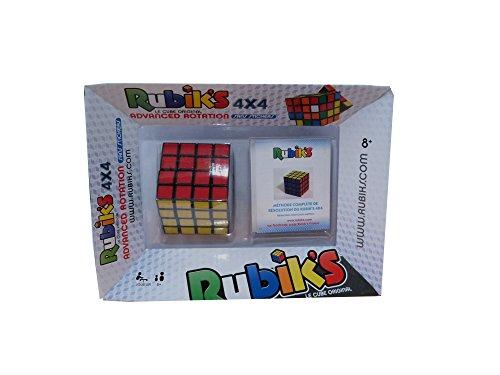 Rubik's - 0737 - Jeu D'action Et De Réflexe - Rubik's Cube 4x4 - Rotation Avancée Avec Méthode