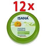 ISANA Handcreme Kamille 150 ml, 12er Pack(12x150...