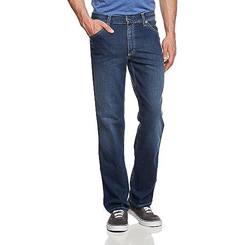 Mustang Herren Straight Leg Jeans Tramper, Gr. W33/L32, Blau (vintage used  532)