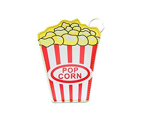 Eudola Münze Beutel Münzen Tasche Kleingeldbörse Geldbeutel Geldbörse Mini-Portemonnaie Reißverschluss Geldbeutel Popcorn-Geldbörse