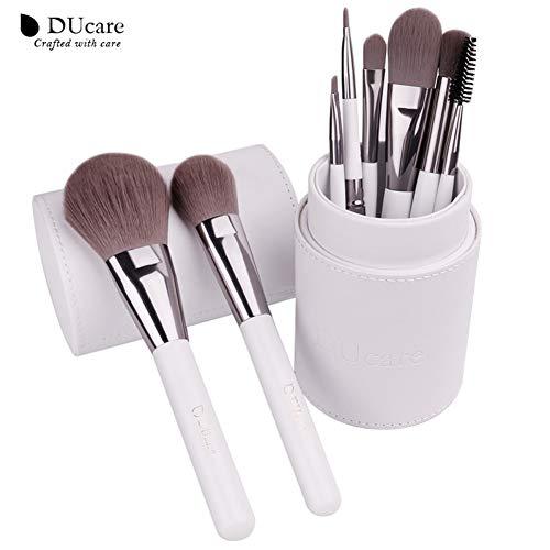 WZNB Make Up Pinsel Make-Up Pinsel Professionelle Kosmetik Pinsel Set 8Pcs Hochwertige Synthetikhaar...