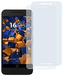 mumbi Schutzfolie kompatibel mit LG Google Nexus 5X Folie klar, Displayschutzfolie (2X)