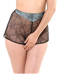 What Katie Did French Knickers Black Lace Gene