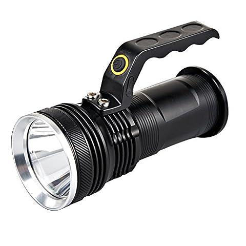 La Cabina XM-L 3000lm Torche LED Rechargeable Torche Handheld Lampe Lumière Eclairage Torche