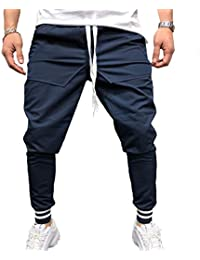 Joggers Deportivos para Hombres Hip Hop Jogging Fitness Pant Pantalones Casual Pant Pantalones De Running Casual M-3XL