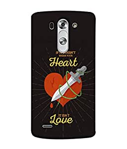 PrintVisa Designer Back Case Cover for LG G3 S :: LG G3 S Duos :: LG G3 Beat Dual :: LG D722K :: LG G3 Vigor :: LG D722 D725 D728 D724 (Love Lovely Attitude Men Man Manly)