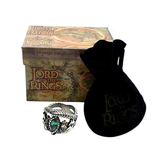 Herr der Ringe - Aragorns Ring Replik 18mm Lord of the Rings Offizielle Medioevo (Aragorn Ring)
