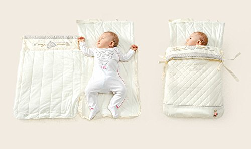 Baby Wickeldecke Bio Schlafsack, Baumwolle, Winter Verdickte Decke NET Größe 81,3x 43,2cm (0–13Monate)