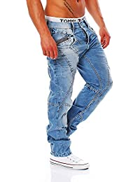 CIPO & BAXX - C-0894-A - Regular Fit - dicke Naht - Men / Herren Jeans Hose