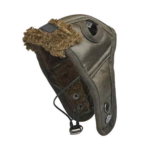 Smilikee Cool Dog Aviator Dog Cap Pet Zubehör Caps für Hunde Hüte Haustiere Herbst Winter Piloten Hut