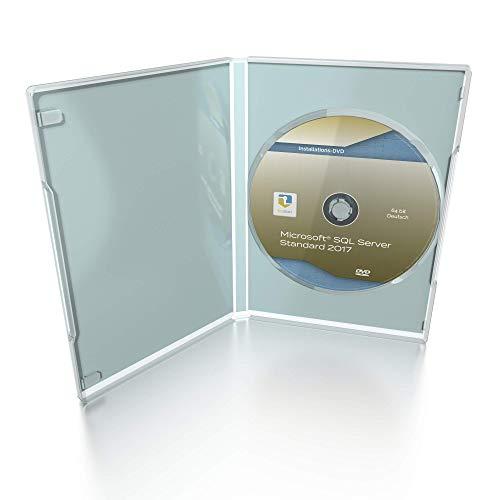 41FlQEAlHeL - MS SQL Server 2017 Standard DVD, inkl. Lizenzdokumente, deutsch