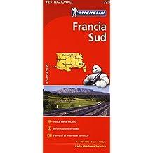 Francia del sud 1:1.000.000