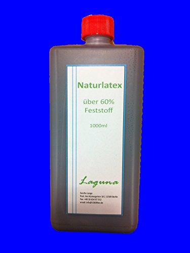 Flüssiglatex 1 Liter Latexmilch, Schwarz, Naturgummi flüssig, Latex, Gummimilch, Sockenstopp, Halloween, Masken, Wunden, Narben