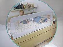 Olmitos, barrera plegable para cama nido Blanca