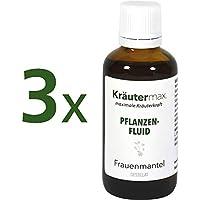 Frauenmantel Pflanzenfluid 3 x 50 ml • Frauenmateltropfen • Destillat von Frauenmantelkraut • Frauenmantel auch... preisvergleich bei billige-tabletten.eu