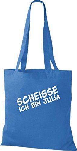 Shirtstown pochette jGA scheisse ich bin ... plusieurs couleurs Bleu - Bleu roi