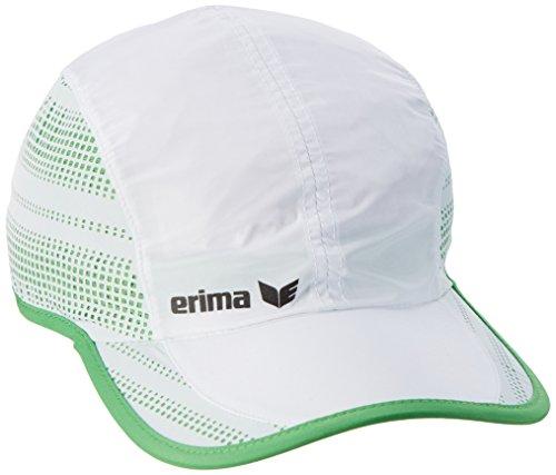 Erima Performance Cap, Weiß/Green, 58 Weiße Tennis Caps