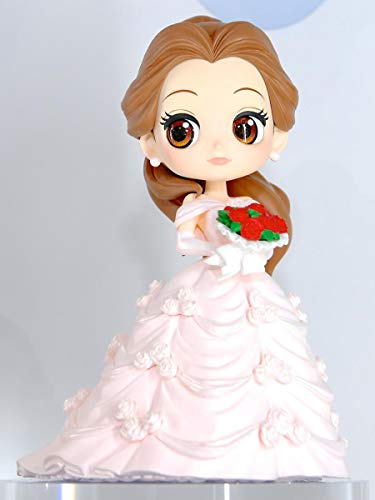 Collection Figure Belle 14cm Pink Wedding Dress - Beauty and the Beast - QPOSKET Series Banpresto Disney Characters Dreamy Style - Version A