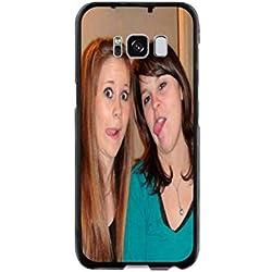 Samsung Galaxy S8 - Coque Personnalisable - Souple Noir