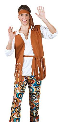 Boland 83800 - Erwachsenenkostüm Hippie, (Hippie Kostüme Männer Für Halloween)