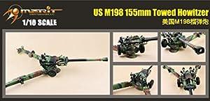 Merit 68604 - Prêt-à-M198 obús remolcado de EE.UU., 155 mm
