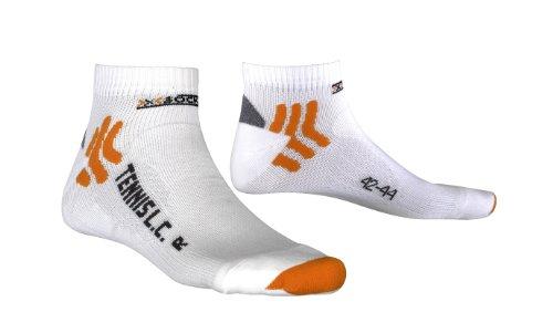 X-Socks Erwachsene Funktionssocken Tennis Low Cut Socken, weiß, 45-47 -