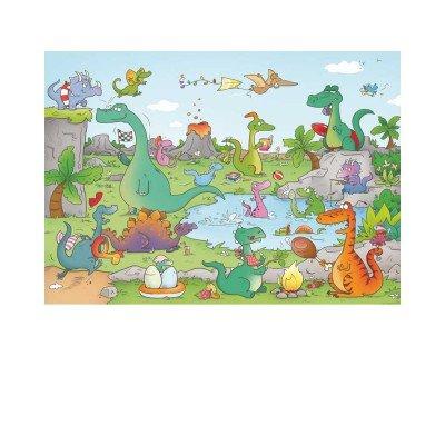 Puzzle Michele Wilson - Les dinosaures de Laure CACOUAULT - Bois - W144-24