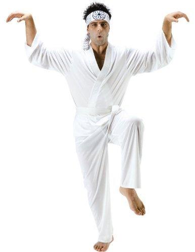 Adult Daniel San Karate Kid Fancy Dress