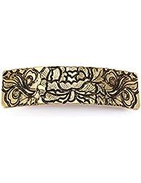 Pasador de pelo Vassago con diseño de nudo irlandés, estilo antiguo, diseño de árbol de la vida, geométrico, retro, para mujeres, adolescentes y niñas