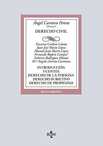 Derecho Civil: Introducción. Fuentes. Derecho de la persona. Derecho subjetivo. Derecho de propiedad (Derecho - Biblioteca Universitaria De Editorial Tecnos)
