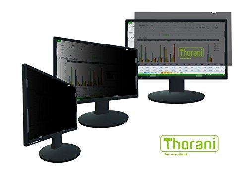 Thorani Desktop Privacy Filter, Blickschutzfolie für Breitbild Computer- & PC-Monitor schützt vor unerwünschten Blicken - 22 Zoll [474x297 mm], 16:10 (Spy Monitor)