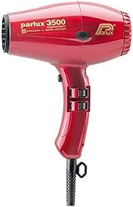 Parlux Supercompact - Sèche-Cheveux Professionnel - Édition Céramique & Ions - Rouge