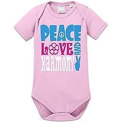 Body bebé Peace Love Harmony by Shirtcity