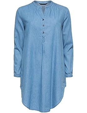 ONLY - Camisas - Básico - para mujer - Azul Claro (azul claro Denim), 36