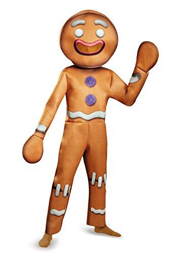 Shrek Gingerbread Man Deluxe Costume Adult X-Large (Shrek Kostüme Deluxe Erwachsenen)