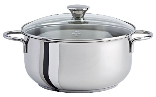 Cristel - CWMF26- Faitout inox 26cm + couvercle - Collection Cookway