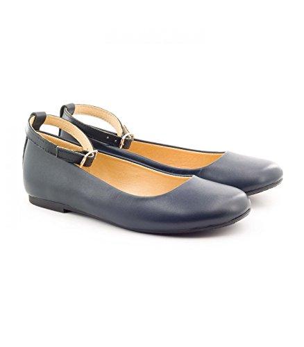 Boni Classic Shoes Boni Marine - Ballerine Bleu Marine