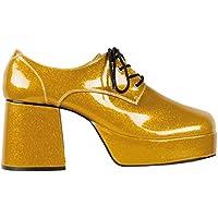 NUEVOS zapatos Boogie con plataforma, oro, tamaño 43